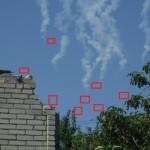 Видео. Над Харцизском сбили украинский самолет