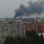 Видео. В двух районах Луганска начался обстрел