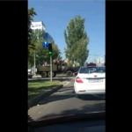 Видео. Боевики в Донецке празднуют день ВДВ