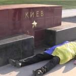 Видео. В Москве активисты предлагали «отведать украинской крови»